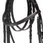 Equestrian Horses Bridle With Lace Reins Premium Leather