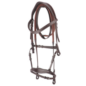 Bridle Set Handcrafted, Anatomically Wide, Premium Leather