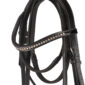 Equestrian Horses Bridle With Reins Premium Leather