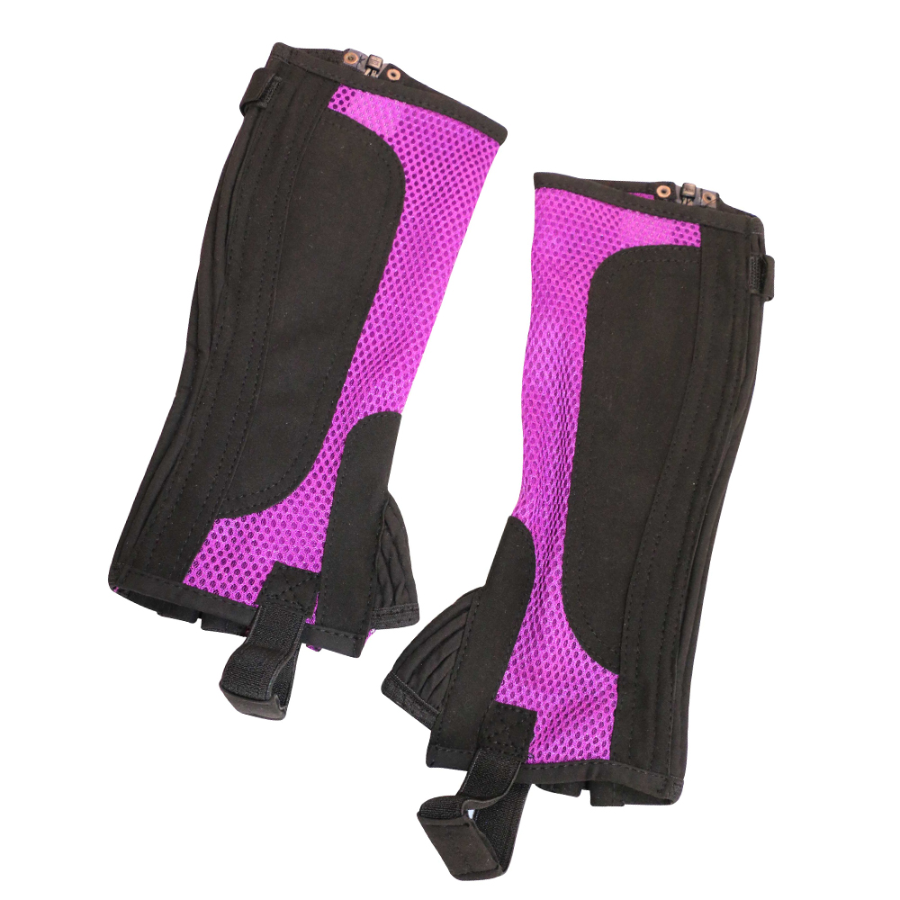 Air mesh synthetic leather half chaps - Art-7009