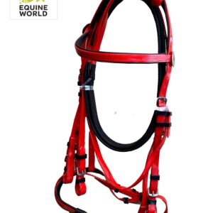 Equestrian Biothene Horse Bridle With Reins