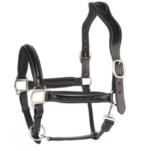Italian Leather Fancy Stitched Halter