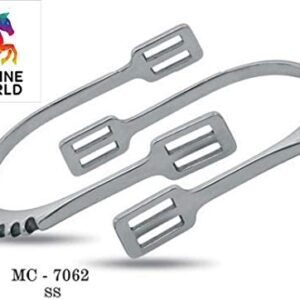 Stainless Steel Le Spurs With Straps MC-7062