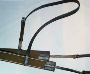 Elastic Breast Girth (breastcollar) Leather with Neck